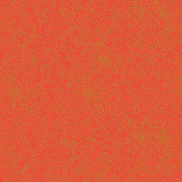 Red Metallic Dot quilting cotton - Rifle Paper Co Basics Menagerie Champagne