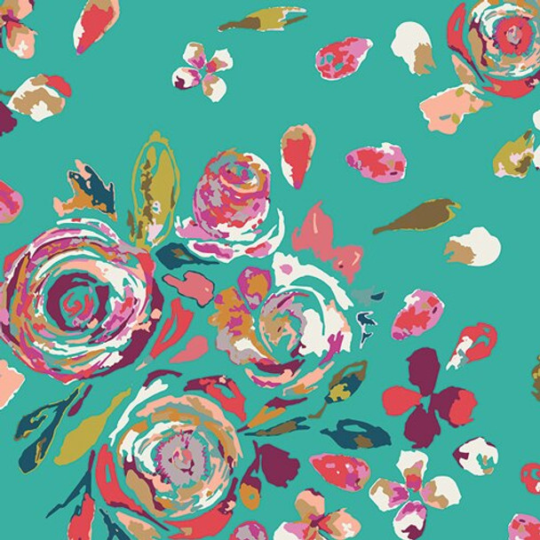 Swifting Flora Boho Fusions cotton Fabrics design