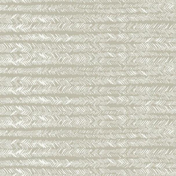 Light green white feathered fabrics design