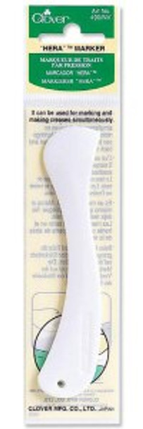 Hera marker quilting and sewing fabric marking tool