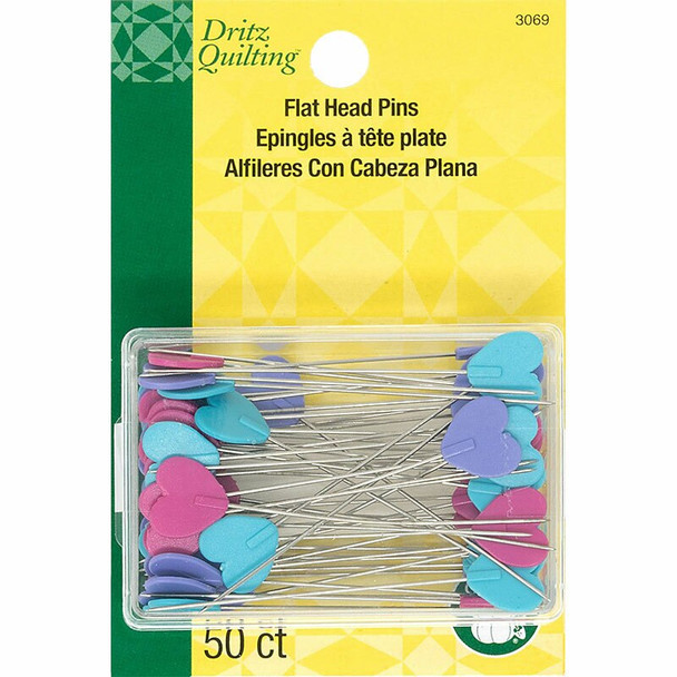 flat decorative sewing quilting pins
