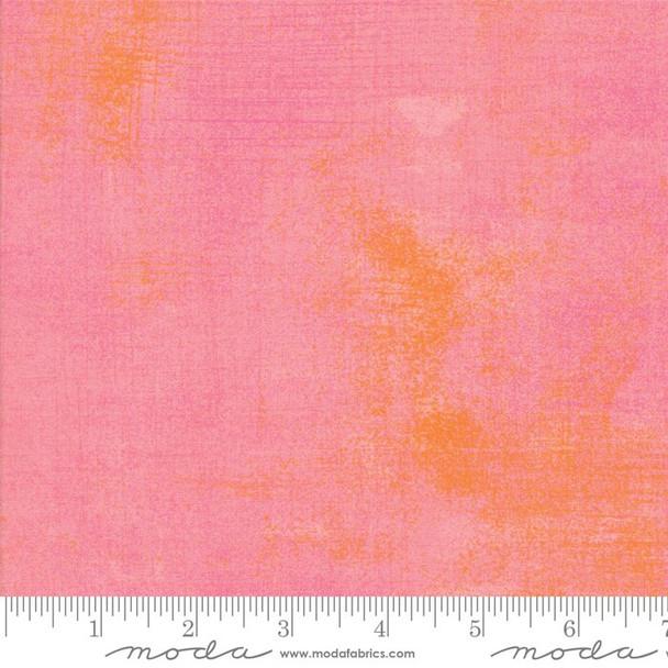 Pink Orange Salmon Rose Grunge fabrics design