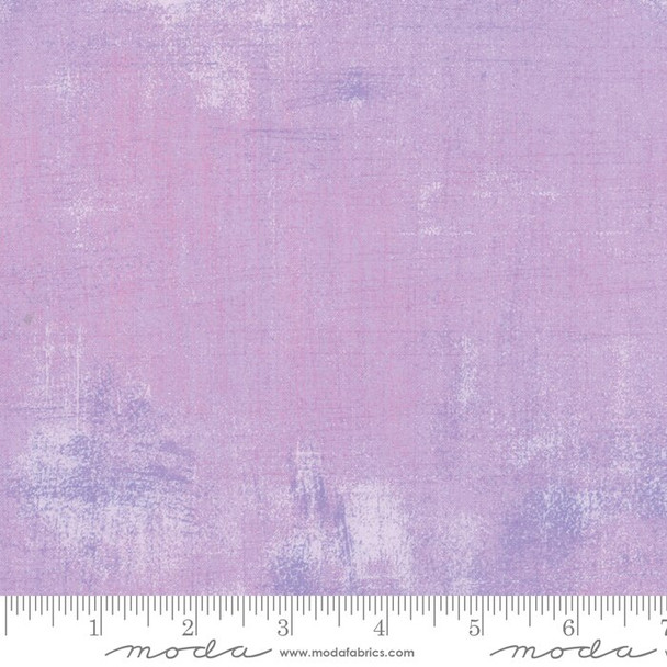 Lavender Freesia Grunge Grey cotton fabrics design