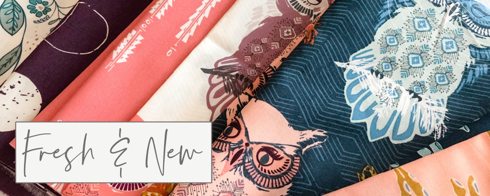 fresh and new designer fabric collection