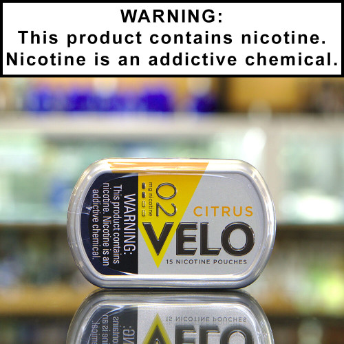 Velo Tobacco-Free Nicotine Pouches (2mg)
