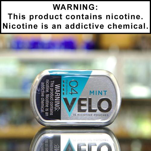 Velo Tobacco-Free Nicotine Pouches (4mg)