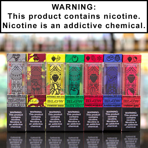 Blow Disposable Ecigs 5% Nicotine