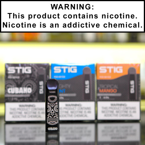 STIG Disposable Ecigs 6% Nicotine