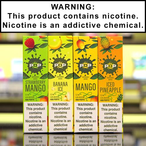 Pop Bar Dispoable Ecigs 5% Nicotine