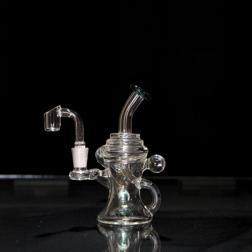 On Point Glass 10mm Mini Recycler