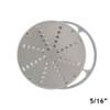 "American Eagle AE-VS12NH/S Stainless Steel Shredding Disk w/AL Holder,1/4"" or 5/16"""