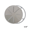 "American Eagle AE-VS12NH #12 Hub Vegetable Shredder Head 1/4"" Disk w/AL Holder"