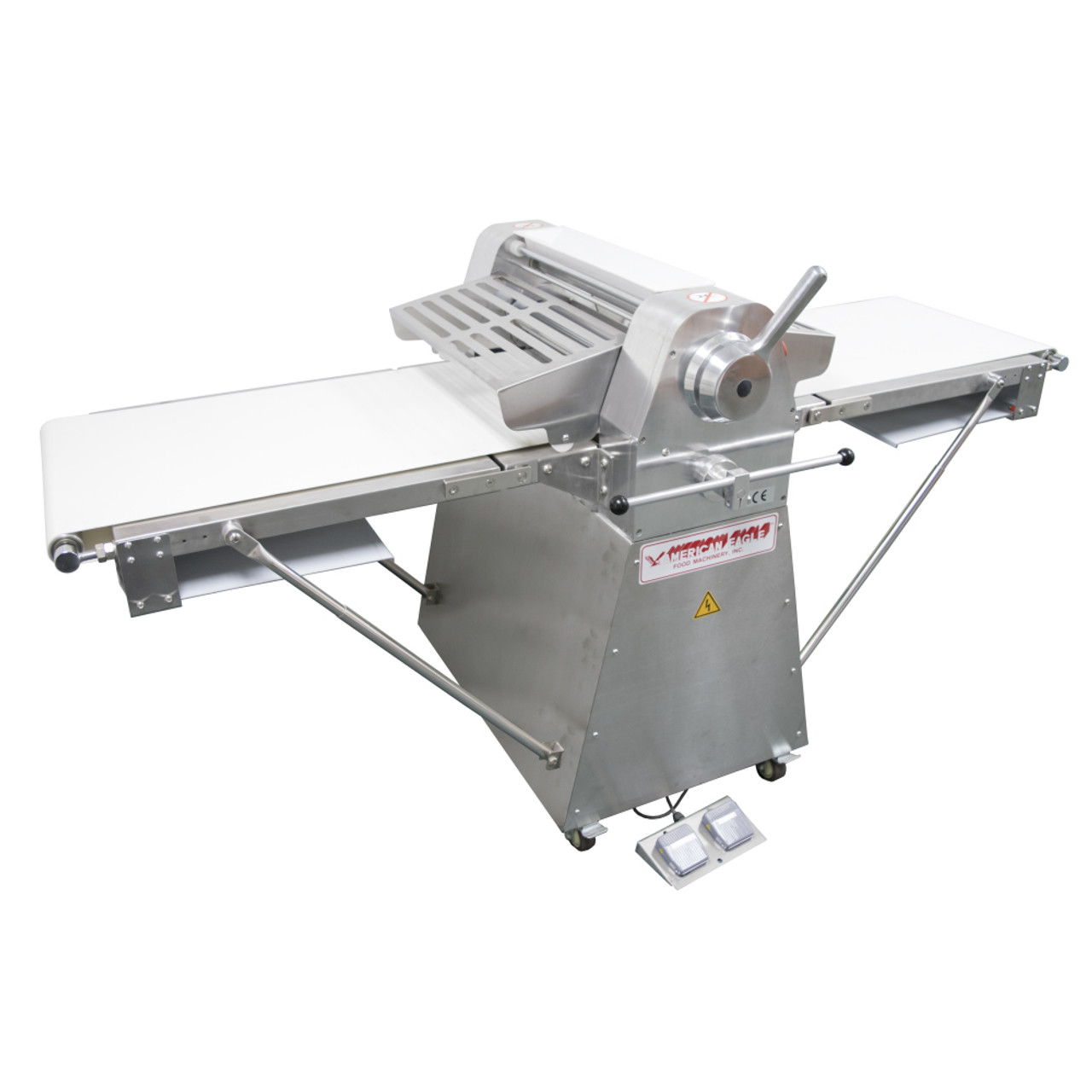 American Eagle AE-DS52-SS 1/2HP Stainless Steel Dough Sheeter Floor Type  20 5