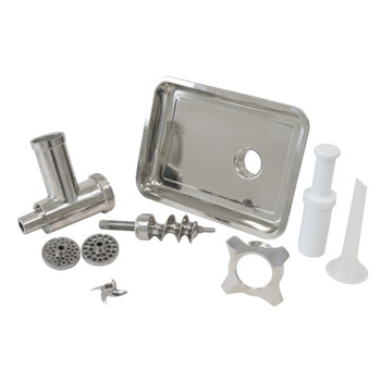 American Eagle AE-G12NH #12 Meat Grinder Attachment Kit Stainless Steel #12 Hub