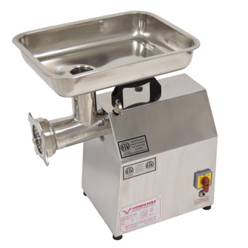 American Eagle AE-G22N 1.5HP #22 Commercial Meat Grinder Stainless Steel