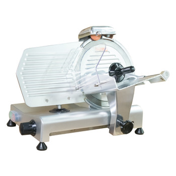 "American Eagle AE-MS10 Heavy Duty 10"" Meat Slicer, 1/4 HP - ETL, NSF Certified"