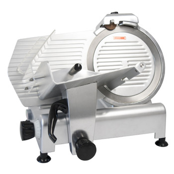 "American Eagle AE-MS12 Heavy Duty 12"" Meat Slicer, 1/2HP - ETL, NSF Certified, 115V/60Hz/1Ph Front"