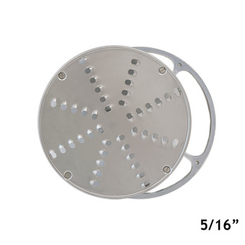 "American Eagle AE-VS12NH/S Stainless Steel Shredding Disk w/AL Holder,1/4"" or 5/16"""