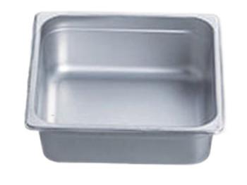 "Pro Restaurant Equipment Bain Marie Pan, Half Size Pan, 13"" x 10.5"" x 4"""