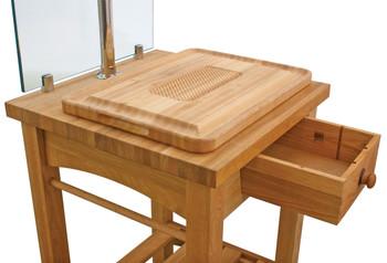 Buffet Enhancements Maple Butcher Block Carving Station