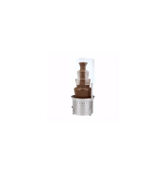 """Buffet Enhancements Chocolate Fountain Sneeze Guard, Unattended Use, Fits 35/40"""" Fountain"""