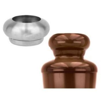 Buffet Enhancements Chocolate Fountain Topper, SS, Ball Shape