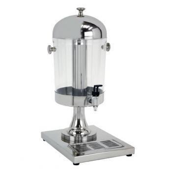 Buffet Enhancements Juice Dispenser, Stainless Steel, 2 Gal