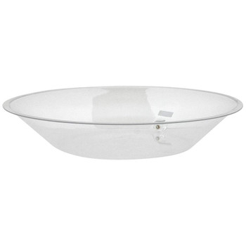 Buffet Enhancements Ice Display Tray, Acrylic Tray With Drain, Round, 30""