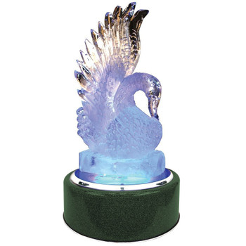 "Buffet Enhancements Chefstone™ Rotating Ice Display, Lighted, Round, 30"", Emerald"