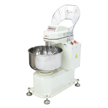 American Eagle AE-1220 40Qt Spiral Mixer, Capacity 26Lbs Flour, 44Lbs Dough, 1.5HP Agitator, 1/3HP Bowl, 220V/3Ph/60Hz Open