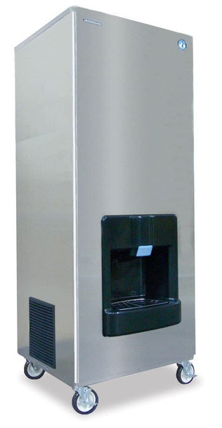 Hoshizaki DKM-500BAH Air Cooled Crecent Icemaker 476lbs per Day 140 lbs Storage