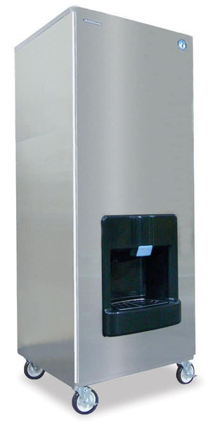 Hoshizaki DKM-500BWH Water Cooled Cresent Icemaker 448lbs per Day 140lbs Storage