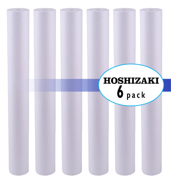 Hoshizaki 9534-26  Twin & Triple Configuration Filtration System  EC210 Prefilter Replacement Cartridge 6 Pack