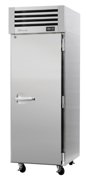 Turbo Air PRO-26R-PT-N Single Section PRO Series Pass-Thru Top Mount Solid Full Door Refrigerator