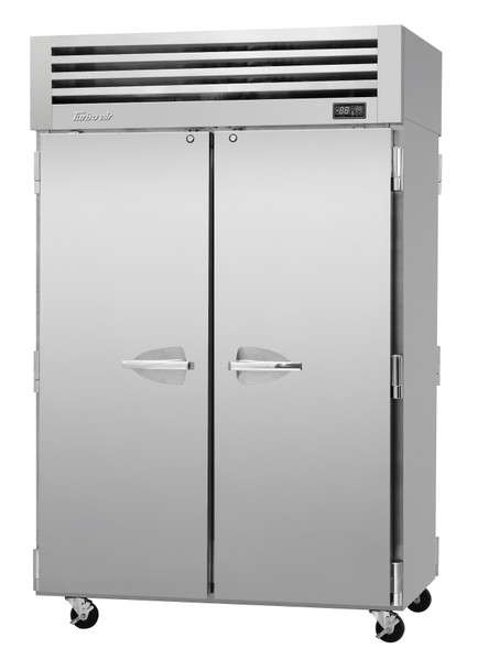 Turbo Air PRO-50R-PT-N Two Section PRO Series Pass-Thru Top Mount Solid Full Door Refrigerator