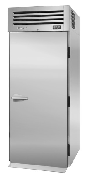 Turbo Air PRO-26R-RI-N Single Section PRO Series Roll-In Top Mount Solid Full Door Refrigerator