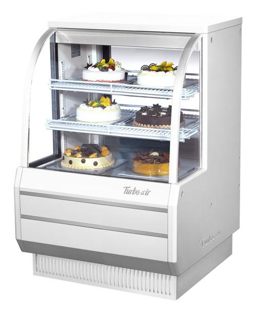 TCGB-36DR-W-N White Color Bakery Case