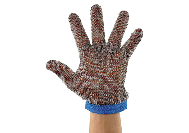 Winco PMG-1 Stainless Steel Protective Mesh Gloves