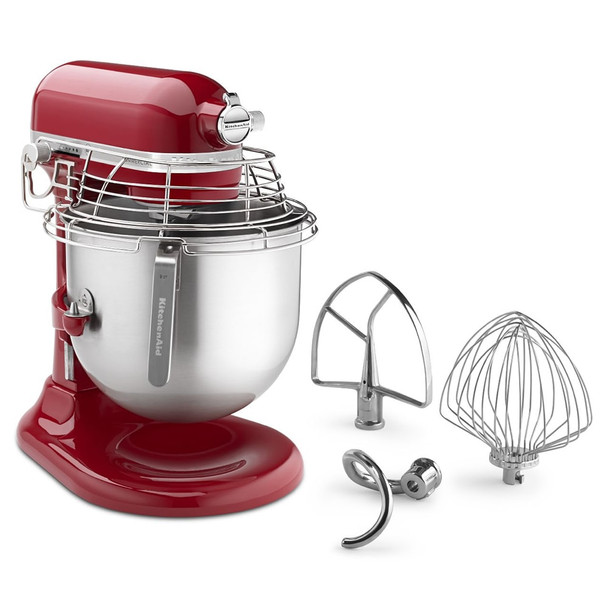 Attachments with Empire Red Mixer