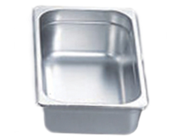 "Pro Restaurant Equipment Bain Marie Pan, 1/3 Size Pan, Extra Deep, 13"" x 7"" x 6"""