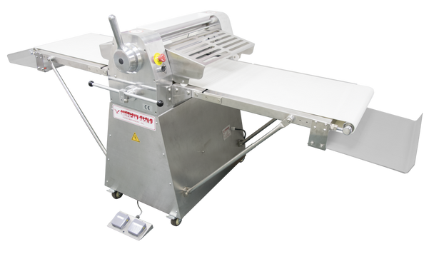 "American Eagle AE-DS65-SS 1HP Stainless Steel Dough Sheeter Floor Type 25.5"" W x 98.5""L, 220V/1Ph"