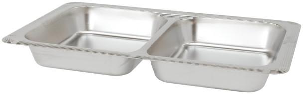Buffet Enhancements Cold Display Pan Rectangular Divided Insert