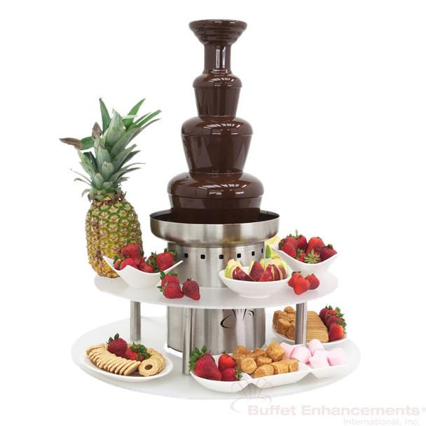 "Buffet Enhancements Overhaul 35"" Chocolate Fountain"
