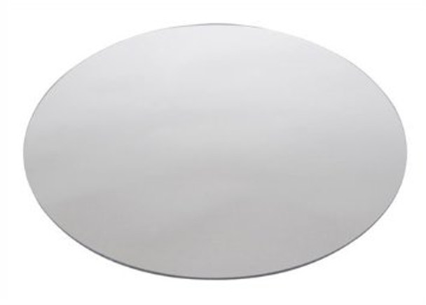 "Buffet Enhancements Acrylic Mirror, Round 14"", Set Of 100"