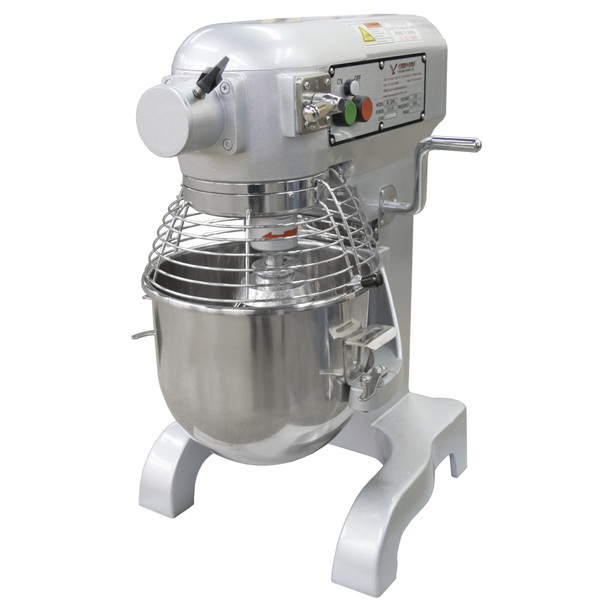 American Eagle AE-10NA 10Qt Planetary Mixer with Safety Guard, 2/3HP, 3 speeds, 110V/1Ph/60hz