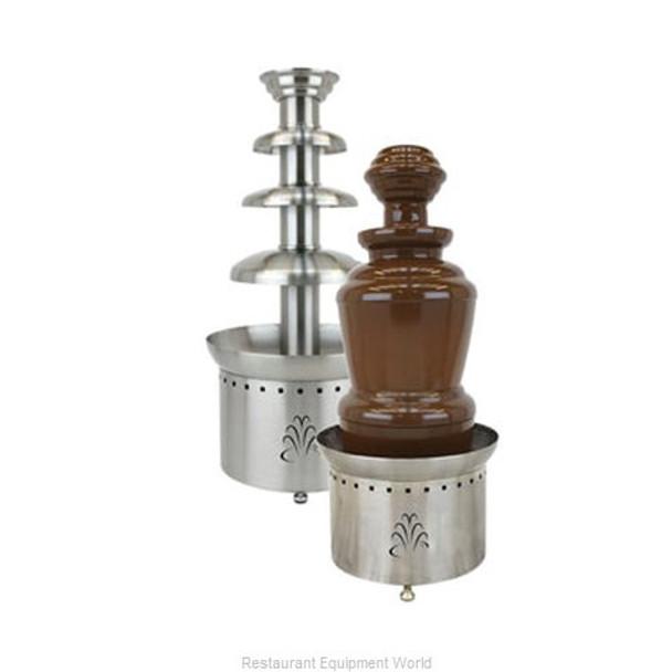 "Buffet Enhancements Chocolate Fountain, SS, 3 Tier, 35"", 230v 50hz"