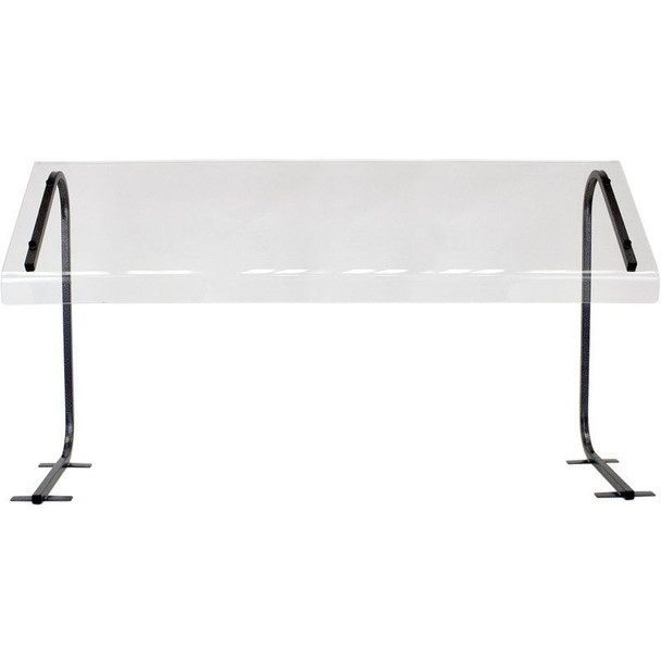 Buffet Enhancements Sneeze Guard, Economy, 48 in. Table Top, Portable, BK