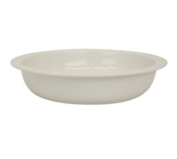 Buffet Enhancements Porcelain Chafing Dish Insert Round, New Bone™ China, Large