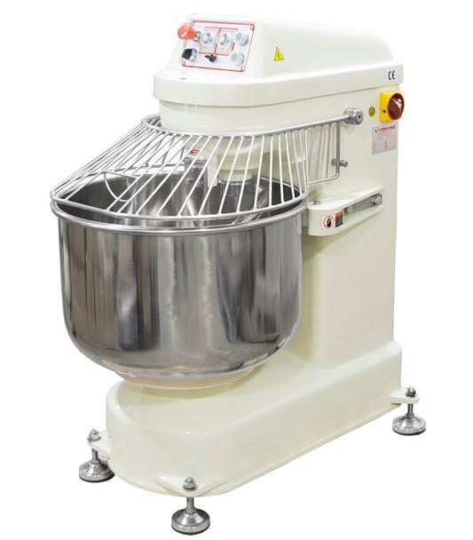 American Eagle AE-3050 80Qt Spiral Mixer, Capacity 66Lbs Flour, 110Lbs Dough, 3HP Agitator, 1HP Bowl, 220V/3Ph/60Hz