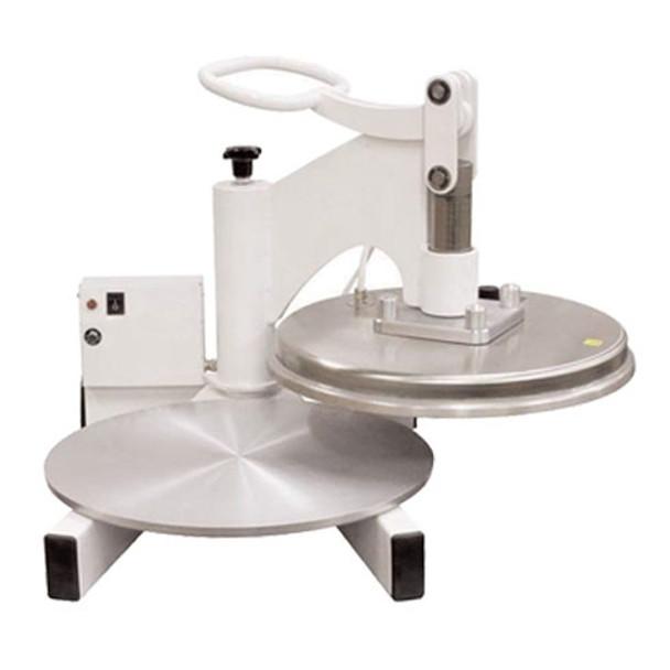 """Dutchess DUT/DMS-2-18 Dual Heat 18"""" Round Platen Tortilla Press, Swing Away Design, 220V"""